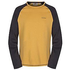 Craghoppers - Mustard/blkp ruston long sleeved t-shirt