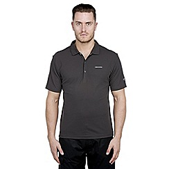Craghoppers - Black pepper nosilife nemla short-sleeved polo shirt