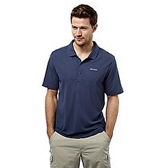 Craghoppers - Dusk blue nemla insect repelling short sleeved polo