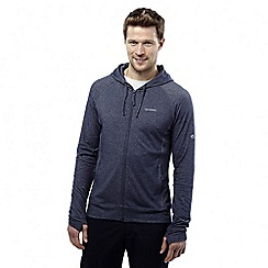 Craghoppers - Soft navy marl nosilife insect repellent avila hoody