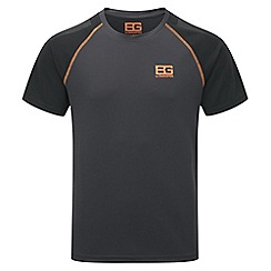 Bear Grylls - Black pepper/blk bear core short-sleeved technical t-shirt