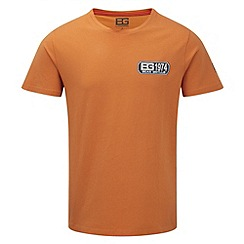 Bear Grylls - Survival orange bear sign logo t-shirt