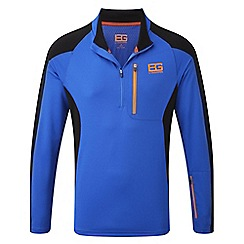 Bear Grylls - Extrblue/black bear survival pro long-sleeved top