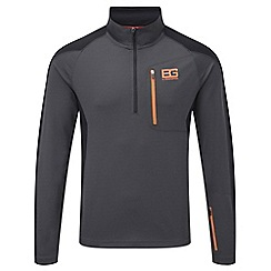 Bear Grylls - Blk pepper/blk bear survival pro long-sleeved top