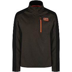 Bear Grylls - Advengreen/blk bear survival pro long-sleeved top