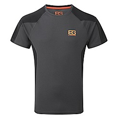 Bear Grylls - Blk pep/blk bear short sleeved base top