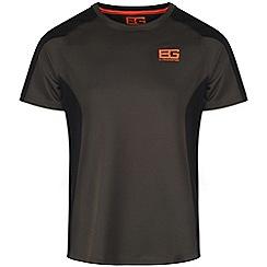 Bear Grylls - Advengrn/blk bear short sleeved base top