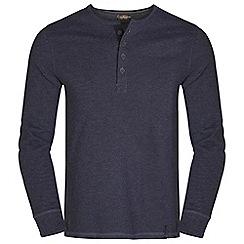Craghoppers - Dk navy marl runswick grandad t-shirt