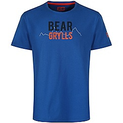 Bear Grylls - Extreme blue bear 1974 t-shirt
