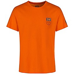 Bear Grylls - Bear orange bear grylls logo t-shirt