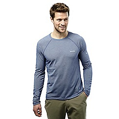 Craghoppers - Light dusk blue goddard insect repelling long sleeved tee
