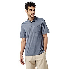 Craghoppers - Night blue marl Nosilife gilles short sleeved polo