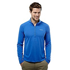 Craghoppers - Sport blue nosilife felix long-sleeved zip neck