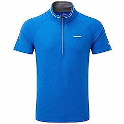 Craghoppers - Sport blue nosilife felix short sleeved zip