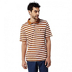 Craghoppers - Tobacco combo Fraser short sleeved polo