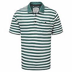 Craghoppers - Lake green cal fraser short sleeved polo