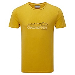 Craghoppers - Lm english mustard erec slim fit short sleeved t-shirt
