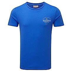Craghoppers - Se sport blue erec slim fit short sleeved t-shirt