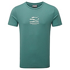 Craghoppers - Bcn lake green erec short sleeved t-shirt