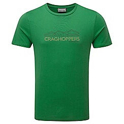Craghoppers - Lm leaf green erec slim fit short sleeved t-shirt