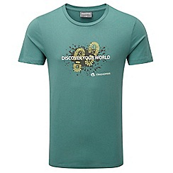 Craghoppers - Mud lake green erec slim fit short sleeved t-shirt