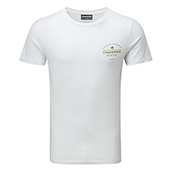 Craghoppers - Se optic white erec short sleeved t-shirt