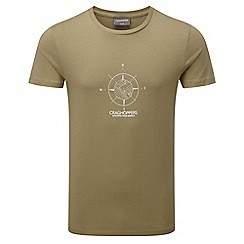 Craghoppers - Comp sand erec slim fit short sleeved t-shirt