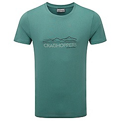 Craghoppers - Lm lake grn erec slim fit short sleeved t-shirt