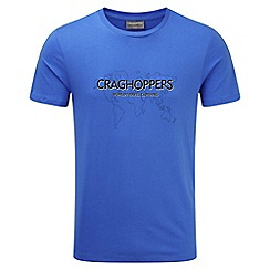 Craghoppers - Sport blue Bear grylls graphic t-shirt