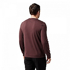 Craghoppers - Red 'Bentley' long sleeved t-shirt
