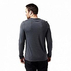 Craghoppers - Blue 'Bentley' long sleeved t-shirt