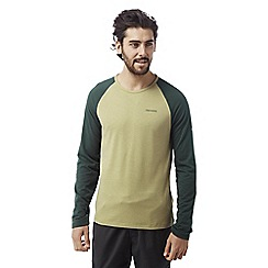 Craghoppers - Light olive marl Maple long sleeved t-shirt