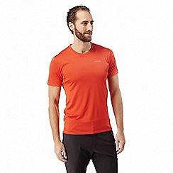 Craghoppers - Orange nosilife active short sleeved t-shirt