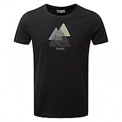 Craghoppers - Black Eastlake short sleeved t-shirt