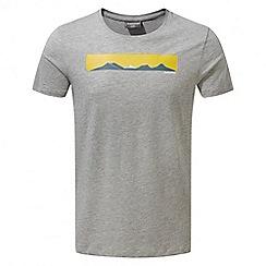 Craghoppers - Soft grey marl Eastlake short sleeved t-shirt