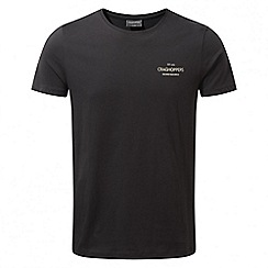 Craghoppers - Black pepper Eastlake short sleeved t-shirt