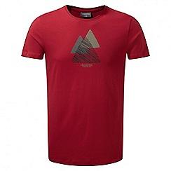 Craghoppers - Barn red Eastlake short sleeved t-shirt