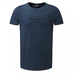Craghoppers - Vintage indigo Eastlake short sleeved t-shirt
