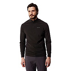 Craghoppers - Black pepper Nosilife active long sleeved half zip