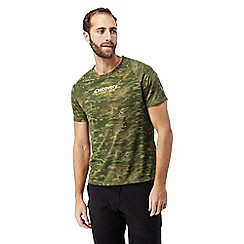 Craghoppers - Dark moss combo Discovery adventures short sleeved t-shirt
