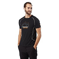 Craghoppers - Black Discovery adventures short sleeved t-shirt