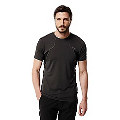 Craghoppers - Black pepper combo fusion t-shirt