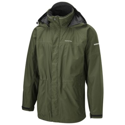 Green GoreTex waterproof walking jacket