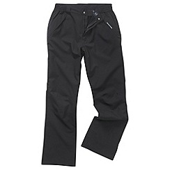 Craghoppers - Black steall stretch trousers - long leg length