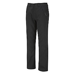 Craghoppers - Black Steall Full Stretch Waterproof Trousers - Regular