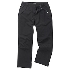 Craghoppers - Black steall stretch trousers - short leg length