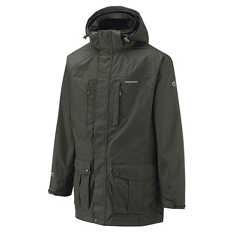 Craghoppers - Dark Cedar Kiwi Long Jacket