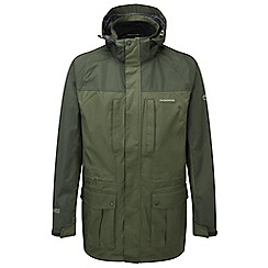 Craghoppers - Evergreen/dkcedar kiwi long jacket
