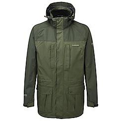 Craghoppers - Evergreen/dkcedar kiwi long jacket
