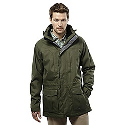 Craghoppers - Parka green kiwi long interactive jacket
